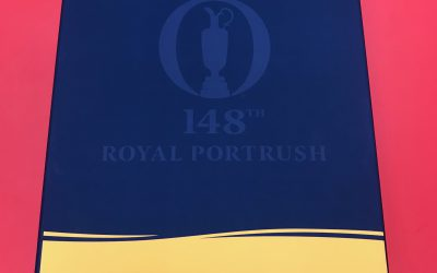 Product focus:  Player Packs for this years British Open in Portrush.