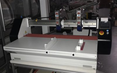 Our Fantastic New Taping Machine